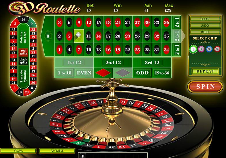 3D-Roulette Vorschau