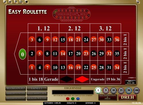 Easy Roulette Vorschau