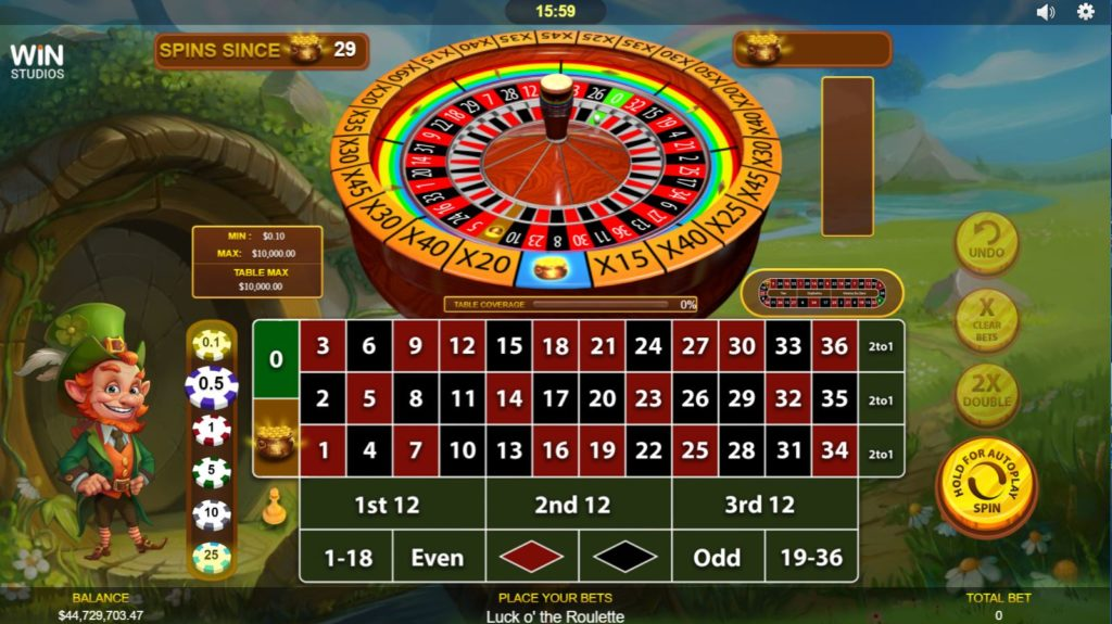 Luck o' the Roulette Vorschau