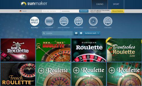 Sunmaker Roulette Vorschau